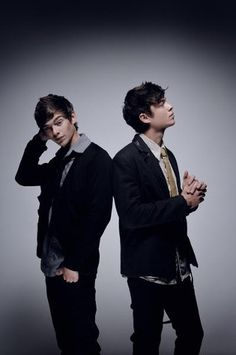 Twins Brian & Andrew Chaplin, better known as LOCNVILLE :)