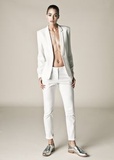 Linga Body Chain - look of the day! cool, ambitious, strong and brilliant.