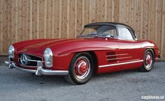 1957 Mercedes-Benz 300SL Roadster Retro Cars, Vintage Cars, Daimler Benz, Mercedes Benz 300, Car Brands, Fast Cars, Cars Motorcycles, Muscle Cars, Luxury Cars