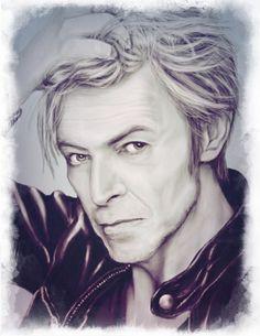 David Bowie by rosabelieve on DeviantArt