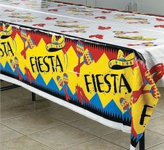 PLASTIC TABLE COVERS FIESTA - Google Search