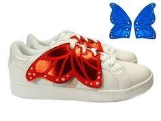 Sneaker Trend im Paillettenshop, Butterfly