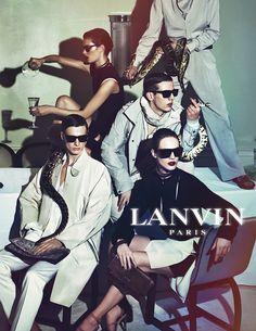 Lanvin SS 2012 Campaign.