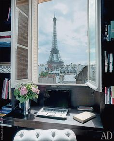 Oh Paris  http://www.thisisglamorous.com/2014/09/decor-inspiration-modern-view-left-bank-paris/