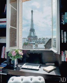 home office workspaces offices studios workspaces home offices view left view dcor the view glamorous paris desk interiordesign bank paris chic home office