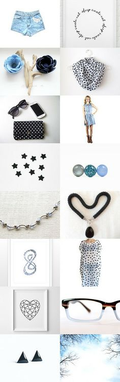 Blue Jean by Gizem CAN on Etsy--Pinned with TreasuryPin.com