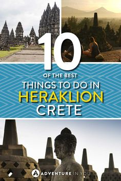 Looking for things to do in Heraklion, Crete? Check out our top list including all our favorite beaches, activities, and places of interest to visit! Greece Cruise, Greece Vacation, Greece Travel, Greece Trip, Sailing Greece, Visit Greece, Vacation Resorts, Vacation Spots, Crete Greece