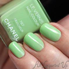 Chanel Fraicheur nail polish via @alllacqueredup