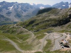 Col du Galibier, France. Add to your cycling bucket list at http://www.xploritall.com/pointofinterest.php?POIid=1207 Photo: Harro Heijboer / Flickr