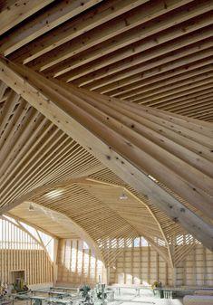 Kitazawa Kenchiku Factory / Fumiko Misawa + Masahiro Inayama (via Remarkable Japanese Timber Structures | JA U)