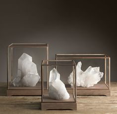 Quartz Crystal Formations - love this. they have crystals at abc too for cheaper I think. love it in the box