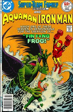 Super-Team Family: The Lost Issues!: Aquaman and Iron Man