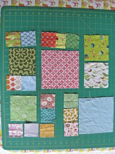 great tutorial on Magic Numbers---2.5,4.5 & 6.5 inch squares So that would be 2/ 2.5″ blocks for every 4.5″ block and 3/2.5″block for every 6.5″ block, or a 2.5″ and a 4.5″ block for mating with a 6.5″ block.