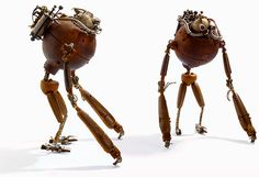 The Junkbots of Stéphane Halleux