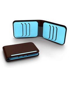 Dosh Street Bi-Fold Wallet in Fudge $65