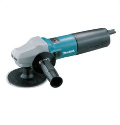 """Makita 9565CVL Angle Grinder High power anti-dust motor in small circumference barrel grip body. Ideal for sanding applications at low speeds. Makita""""s exclusive Super Joint System helps prevent kickback. Tool-less quick guard adjustment. For More Details: http://www.mrthomas.in/makita-9565cvl-angle-grinder_56"""