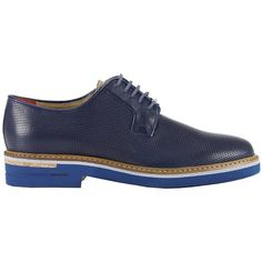 Brogue Shoes Shoes Men Brimarts ($175) ❤ liked on Polyvore featuring men's fashion, men's shoes, men's oxfords, navy, navy blue mens shoes, mens brogues, mens navy shoes, mens shoes and mens brogue shoes