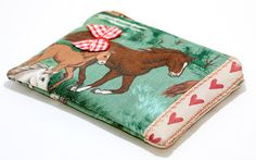 PINKKIS Special Editions Coin Pouch Wild Horses and by Pinkkis, $9.00