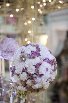 Purple is the new pink! Cafe Fleur at The Wedding Expo. www.cafefleur.co.za
