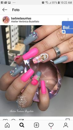Nails, Painting, Beauty, Finger Nails, Stickers, Ongles, Painting Art, Cosmetology, Paintings