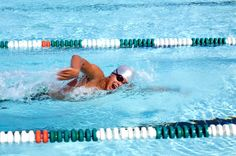 Using this series of swimming drills, you will learn to swim front crawl / freestyle one step at a time, without struggle. Outdoor Swimming Pool, Swimming Pools, Freestyle Swimming, Little Swimmers, Triathlon, Repeat, Coaching, Exercise, Bike