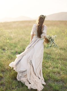 Jose Villa | Fine Art Weddings ... Wedding dress ... Brides gown ... Bridal pictures ...  rustic glamorous, vintage, country elegance, shabby chic, boho, whimsical