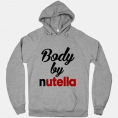 Body By Nutella Sweatshirt