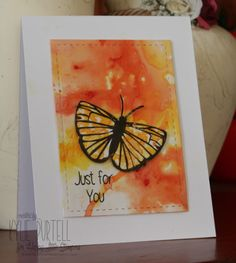 Kylie Purtell, Happy Little Stampers, HLS Butterfly Birthday, Brushos, Glossy Cardstock