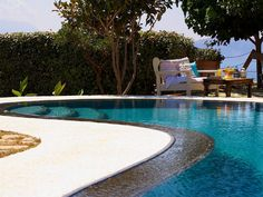 Rethymno villa rental - Sunbathe on the comfortable sun beds and enjoying the fresh country air! Crystal Clear Water, The Fresh, Swimming Pools, Beds, Villa, Sun, Park, Country, Outdoor Decor
