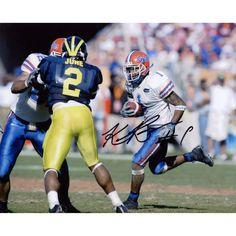 "Keiwan Ratliff Florida Gators Fanatics Authentic Autographed 8"" x 10"" vs. Michigan Wolverines Run Ball Horizontal Photograph"