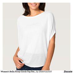 Women's Bella Flowy Circle Top Feel the flow Shirt
