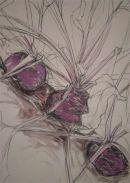 Natasha Clutterbuck Purple Beetroot Row