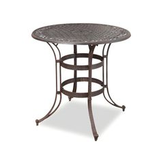 @Overstock - Update your patio decor with this Home Styles Biscayne Bistro Table. This table features a durable cast   aluminum construction and a UV resistant rust bronze   finish.http://www.overstock.com/Home-Garden/Home-Styles-Biscayne-Bronze-  Bistro-Table/6620878/product.html?CID=214117 $302.30