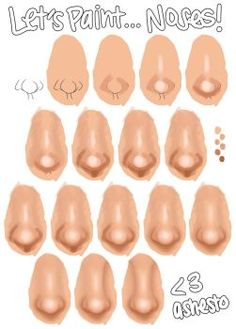 Another tutorial within, like, 5 minutes? It must be Christmas! tomorrow is July which is about as far from Christmas as you can get.) So this is a tutorial on ho. Digital Painting Tutorials, Digital Art Tutorial, Art Tutorials, Digital Art Beginner, Nose Drawing, Drawing Faces, Drawing Tips, Lip Tutorial, Doll Tutorial