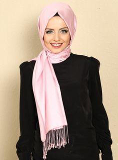 İpek Şal - Pembe - Mısırlı