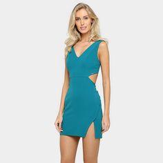 Compre Vestido Colcci Azul Turquesa na Zattini a nova loja de moda online da Netshoes. Encontre Sapatos, Sandálias, Bolsas e Acessórios. Clique e Confira!