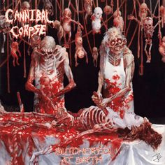 Cannibal Corpse album cover animated gif