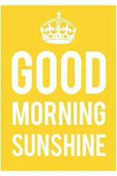Buenos días.
