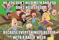 weed memes | Everything's Better With A Bag Of Weed