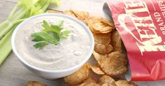 Creamy Cashew Cool Celery Dip Recipe Appetizers with raw cashews, water, apple cider vinegar, celery salt, dried chives, dill, garlic powder