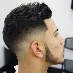 """Dope cut on my boy - Today Pin Mid Haircuts, Medium Curly Haircuts, Medium Hair Cuts, Haircuts For Men, Medium Hair Styles, Short Hair Styles, Medium Fade, Older Mens Hairstyles, Faux Hawk Hairstyles"
