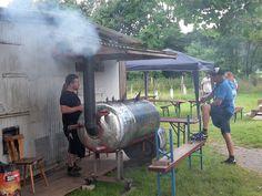 9.7.2016 - Sommerfest   Grill oder Räucherofen. Was ist es geworden?