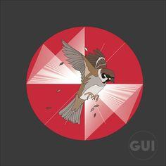 Sparrow logo illustrator
