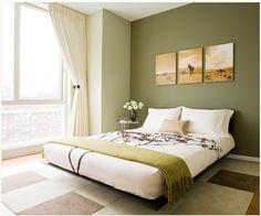 beautiful wall color!
