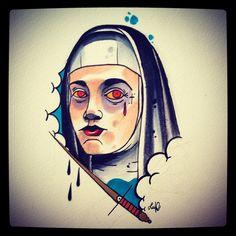Luleone  chyba ty tattoo katowice nun