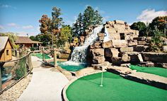 Dunn-d's Mini Golf – Chelsea  One or Three Mini-Golf Family Passes for Two Adults and Two Children (Up to 56% Off)  Ottawa