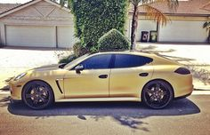 Spotted: The Game Switches Old Porsche for Golden 2013 Ace of Spades Edition Panamera