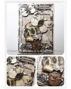 See all my ATC cards at the tag: #miloliljaartATC  {#miloliljaart} {#myart} {#scrapbooking} {#instadaily} {#art} {#instaart} {#artist} {#masterpiece} {#paperart} {#ii} {#crafting} {#creative} {#cracklepaint} {#vintage} {#shabbychic} {#mixedmedia} {#atc} {#atctrade} {#atccard} {#artisttradingcard} {#tradingcards} {#cardmaking} {#distressink} {#handcolored} {#rubberstamp} {#lace} {#stampotique} {#scrapiniec} {#skull}