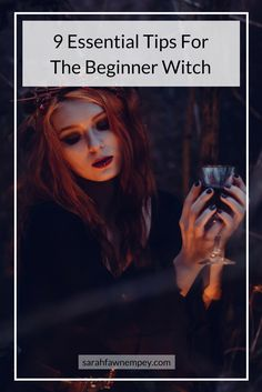 Hey friends :) Are you new to the path? Looking for more info on witchcraft? Then check out these 9 essential tips for the beginner witch. Many Blessings )O(