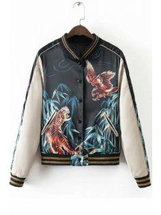 Color mood outerwear Short Jacket Women Round-Neck Baseball Basic Jacket Female Jaqueta Feminina Coat